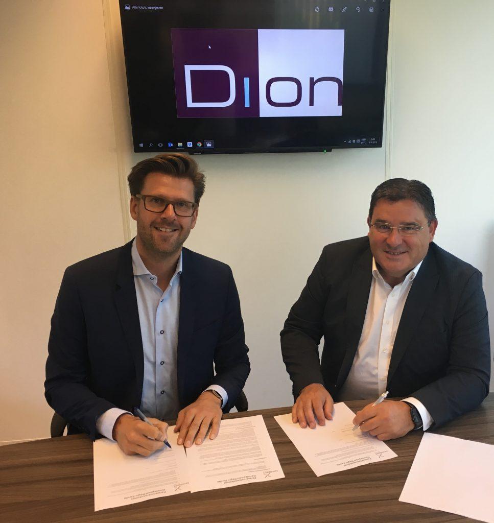 Ondertekening samenwerking Dion Groep Kennispoort
